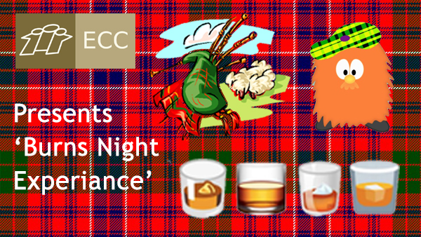<b>ECC Social Event for BURNS NIGHT</b>