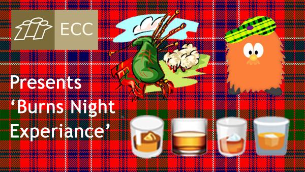 <b>ECC Social Event for BURNS NIGHT</b>