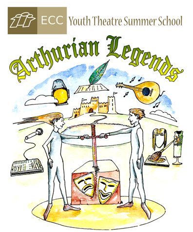 <strong>ECC Youth Theatre Summer School</strong></br>(July 8 - 12 and 15 - 19, 2019)
